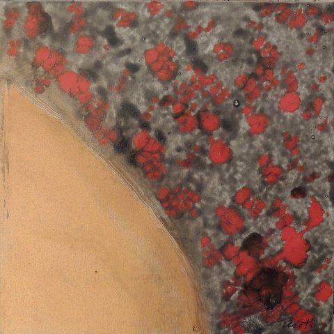 Vestigia del Sacro 120  24 x 24  smalto 2013