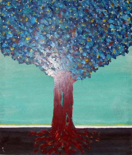 Albero, 1986, 60x70, propr. silvia frattoloni, levanto