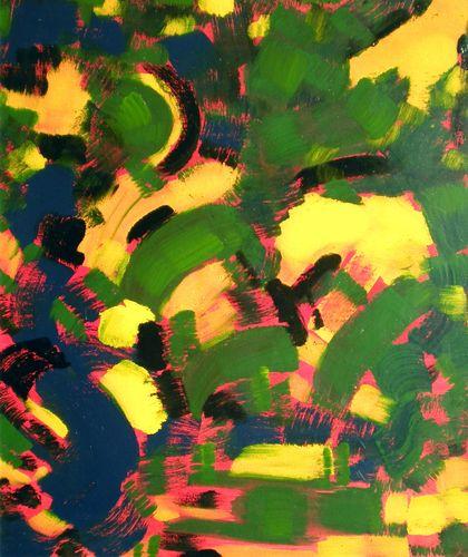 Movimenti, smalto su tela, 1984, 70x60, propr. giovanni frattoloni, torino
