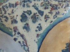L'albero universale 40 x 40 smalto su tela 2012