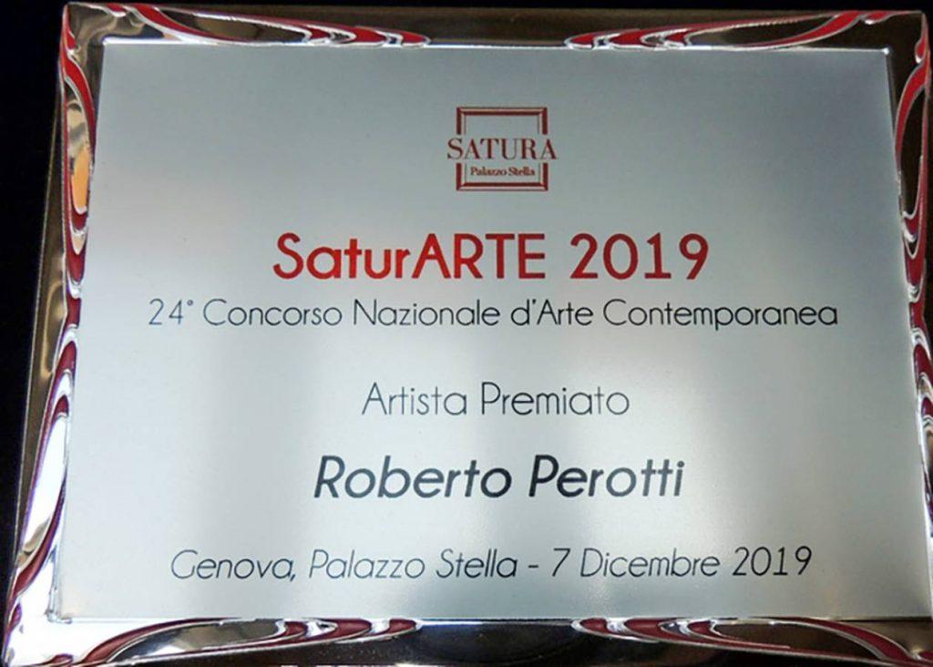 roberto perotti premio satura arte 2019